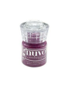 Nuvo embossing powder - crushed mulberry
