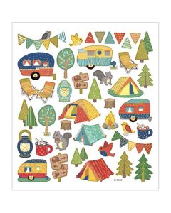 CCHobby stickers - camping