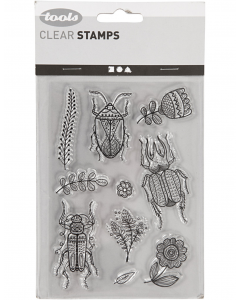 Tools clear  stamp kevers