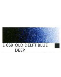 Old Holland new masters acrylverf 60ml E669 oudt delfts blauw donker