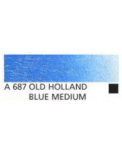 Old Holland new masters acrylverf 60ml A687 oudt hollands blauw middel