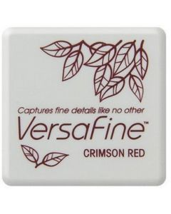 Versafine inktkussen crimson red
