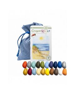 Crayon rocks 20 - seaside bag