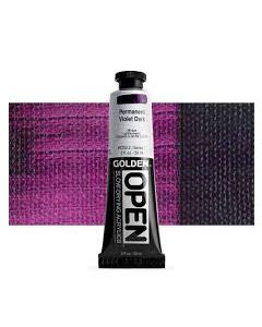 Golden open acryl 60ml - 7253 permanent violet dark