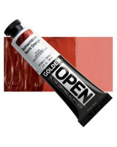 Golden open acryl 60ml - 7280 quinacridone burnt orange