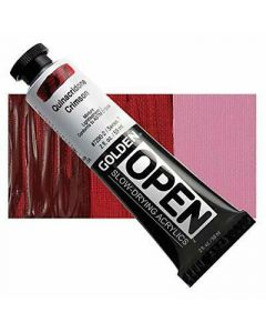 Golden open acryl 60ml - 7290 quinacridone crimson