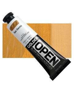 Golden open acryl 60ml - 7340 raw sienna