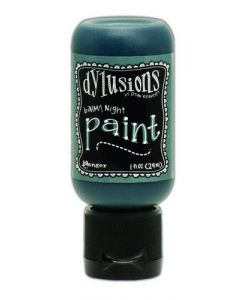 Ranger dylusions paint flip cap bottle 29ml - balmy night