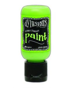 Ranger dylusions paint flip cap bottle 29ml - island parrot