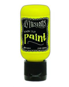 Ranger dylusions paint flip cap bottle 29ml - lemon zest