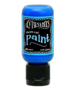 Ranger dylusions paint flip cap bottle 29ml - london blue