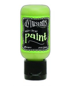 Ranger dylusions paint flip cap bottle 29ml - mushi peas