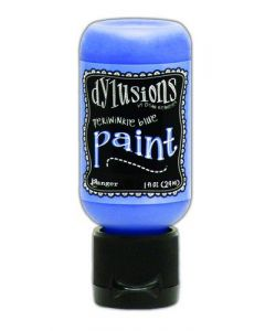 Ranger dylusions paint flip cap bottle 29ml - periwinkle blue