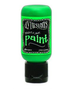 Ranger dylusions paint flip cap bottle 29ml - polished jade