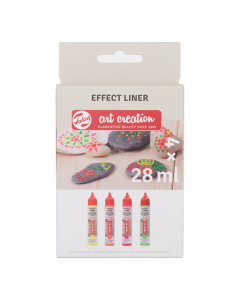 ArtCreation effectliner - set neon 4x28ml