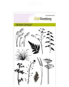 Craft Emotions clearstamps branches
