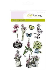 Craft Emotions clearstamps herfstmand