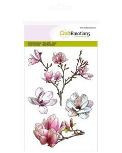 Craft Emotions clearstamps magnolia