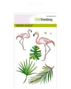 Craft Emotions clearstamps flamingo