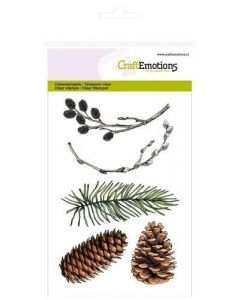 Craft Emotions clearstamps willow catkins