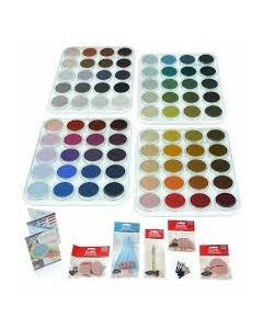 Panpastel set color 80 pans