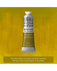 Winton olieverf 37ml - 280 azo yellow green