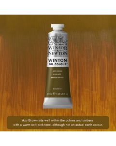 Winton olieverf 37ml - 389 azo brown