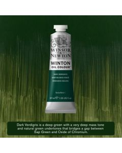 Winton olieverf 37ml - 405 dark verdigris