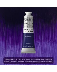 Winton olieverf 37ml - 406 dioxazine blue