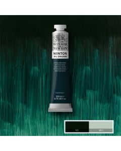Winton olieverf 200ml - 048 phthalo deep green