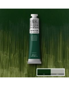 Winton olieverf 200ml -  405 dark verdigris