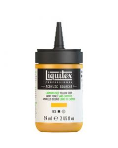 Liquitex acrylic gouache 59ml S2 891 cadmium-free yellow deep