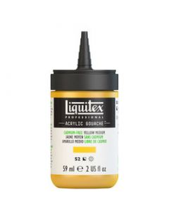 Liquitex acrylic gouache 59ml S2 890 Cadmium-free yellow medium