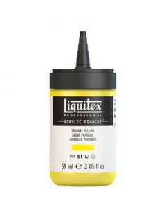 Liquitex acrylic gouache 59ml S1 410 Primair yellow