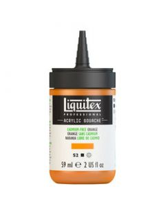 Liquitex acrylic gouache 59ml S2 892 cadmium-free orange