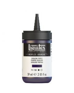 Liquitex acrylic gouache 59ml S1 186 Dioxazine purple