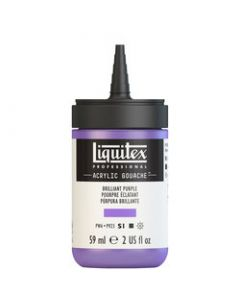 Liquitex acrylic gouache 59ml S1 590 brilliant puple