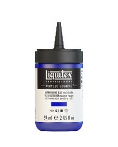 Liquitex acrylic gouache 59ml S1 382 ultramarine blue (red shade)