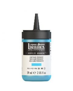 Liquitex acrylic gouache 59ml S1 770 Light blue permanent