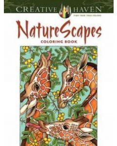 Kleurboek, Nature scapes, Creative Haven