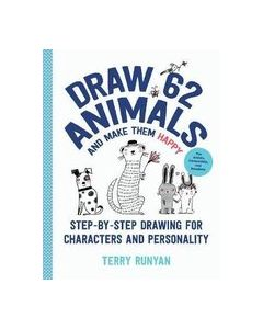 Draw 62 animals and make them happy, figures and personality, Terry Runyan