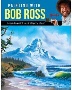 Painting with Bob Ross, learn to paint step by step