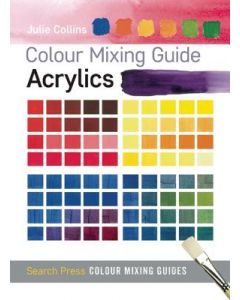 Colour mixing guide acrylics, Julie Collins
