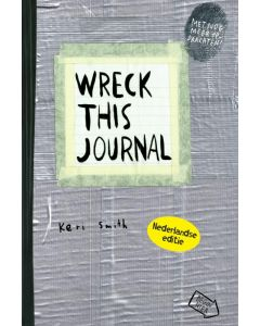 Wreck this journal - duct tape, Keri Smith