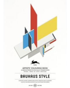 Bauhaus Style, Artists' colouring book 180 gr