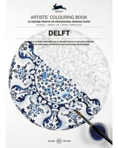 Delft, Artists Colouring book 180 gr