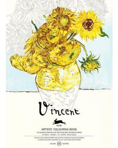 Van Gogh, Artists Colouring book 180 gr