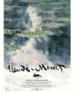 Claude Monet , Artists' colouring book 180 gr