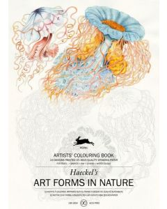 Art Forms in Nature, Artists Colouring book 180 gr