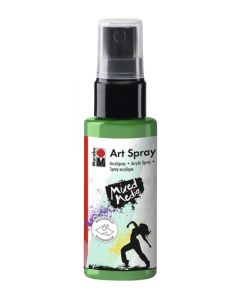 Marabu mixed media art spray 158 apple